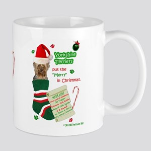 WishList2 -Mug -Yorkie,pc Mugs
