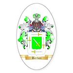 Barbon Sticker (Oval 50 pk)