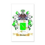 Barbon 35x21 Wall Decal