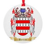 Barbian Round Ornament