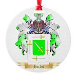 Barbet Round Ornament