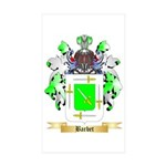 Barbet Sticker (Rectangle 50 pk)