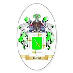 Barbet Sticker (Oval 10 pk)