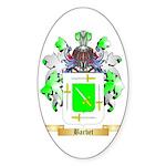 Barbet Sticker (Oval 50 pk)