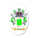 Barbet 35x21 Oval Wall Decal