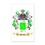 Barbet 20x12 Wall Decal