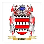 Barbery Square Car Magnet 3