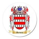 Barbery Round Car Magnet
