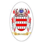 Barbery Sticker (Oval)