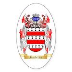 Barberan Sticker (Oval)