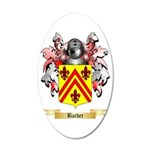 Barber 35x21 Oval Wall Decal