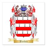 Barben Square Car Magnet 3