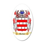 Barben 35x21 Oval Wall Decal