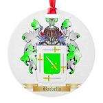 Barbella Round Ornament
