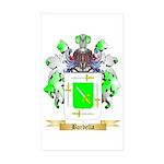 Barbella Sticker (Rectangle 50 pk)