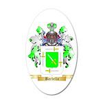 Barbella 20x12 Oval Wall Decal