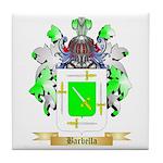 Barbella Tile Coaster