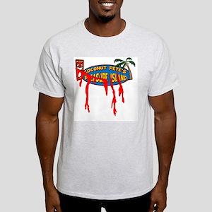 Coconut Pete's Victim Ash Grey T-Shirt