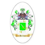 Barbas Sticker (Oval 10 pk)