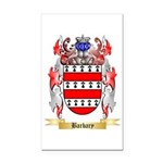 Barbary Rectangle Car Magnet