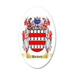 Barbary 20x12 Oval Wall Decal
