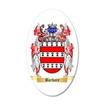 Barbary 35x21 Oval Wall Decal