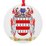 Barbarulo Round Ornament