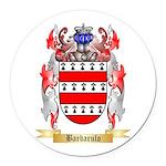 Barbarulo Round Car Magnet