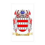 Barbaroux Sticker (Rectangle 50 pk)