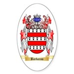 Barbarou Sticker (Oval 10 pk)