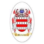Barbarou Sticker (Oval 50 pk)