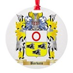 Barbaro Round Ornament