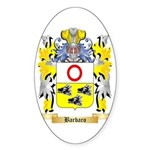 Barbaro Sticker (Oval 50 pk)