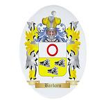 Barbaro Ornament (Oval)