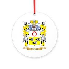 Barbaro Ornament (Round)