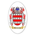 Barbarino Sticker (Oval 50 pk)