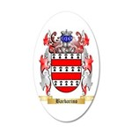 Barbarino 20x12 Oval Wall Decal