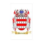 Barbarin Sticker (Rectangle 50 pk)