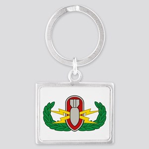 EOD in color Landscape Keychain