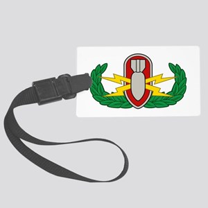 EOD in color Large Luggage Tag