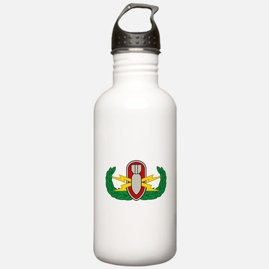 EOD in color Water Bottle