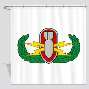 EOD in color Shower Curtain
