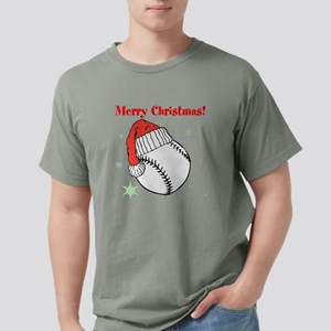 MerryChristmasBaseball Mens Comfort Colors Shirt