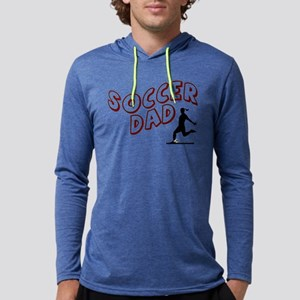 Soccer Dad (daughter) Mens Hooded Shirt