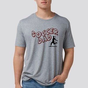 Soccer Dad (daughter) Mens Tri-blend T-Shirt