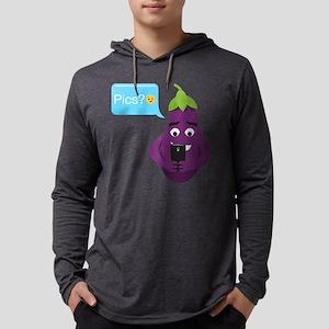 Emoji Eggplant Pics? Mens Hooded Shirt