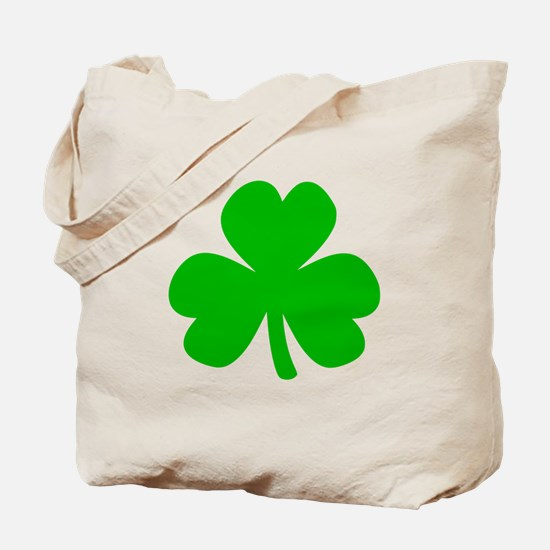 Three Leaf Clover Tote Bag