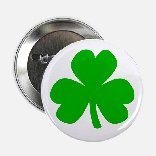"Three Leaf Clover 2.25"" Button"