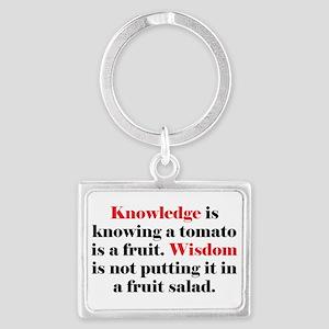 Tomato Knowledge Landscape Keychain