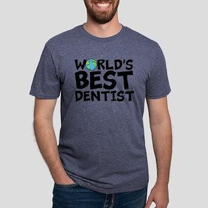World's Best Dentist Mens Tri-blend T-Shirt